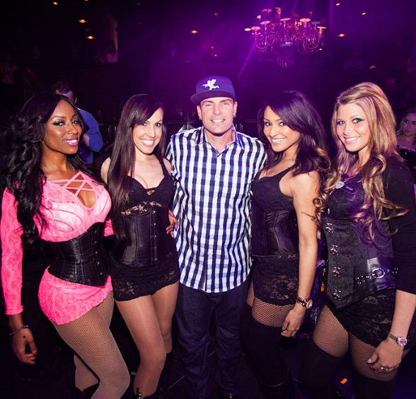 Vanilla Ice Performs at POPLIFE in Body English Nightclub at Hard Rock Hotel Las Vegas