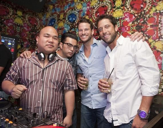 David Good, D JFive and Jesse Kovacs at Vanity