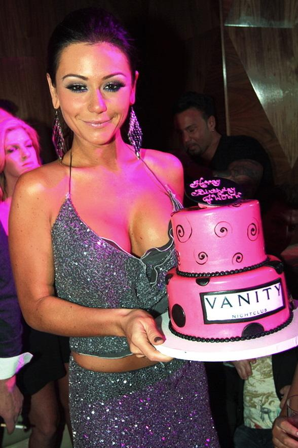 "Jenni ""JWOWW"" Farley Celebrates Birthday at Vanity in Hard Rock Hotel"