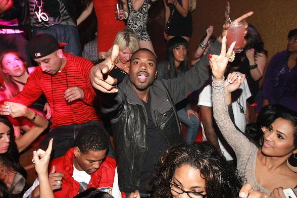 Ray J at Hard Rock Hotel in Las Vegas