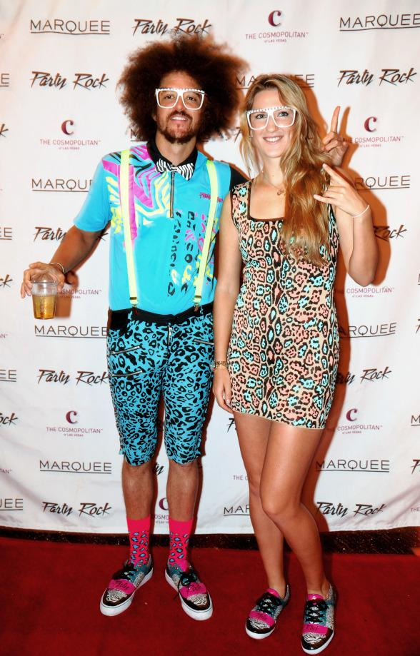 #1 Ranked Female Tennis Player Victoria Azarenka and Redfoo at Marquee