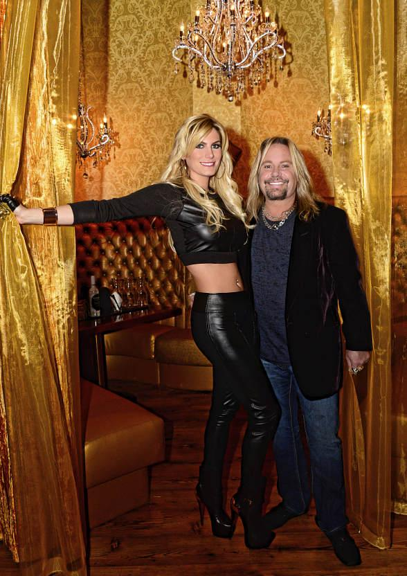 Vince Neil Celebrates Opening of His New Tatuado Eat-Drink-PARTY! at Circus Circus