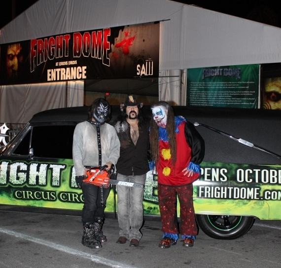 Vinnie Paul of Pantera visits Fright Dome