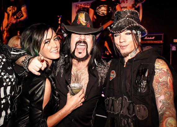 Vinnie Paul with DJ Ashba