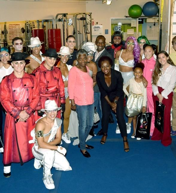 "Oscar-Winning Actress Viola Davis visits ""Michael Jackson ONE"" by Cirque du Soleil in Las Vegas"