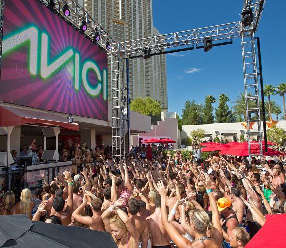 AVICII performs at WET REPUBLIC at MGM Grand