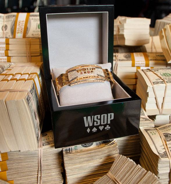 WSOP Bracelet and Cash