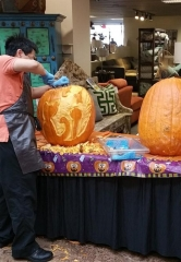 Free Halloween Pumpkin Carving Event at Walker Furniture in Las Vegas Oct. 28