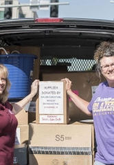 Walker Furniture, Beasley Media Group and 13 Action News Collect Thousands of New School Supplies for Clark County Students