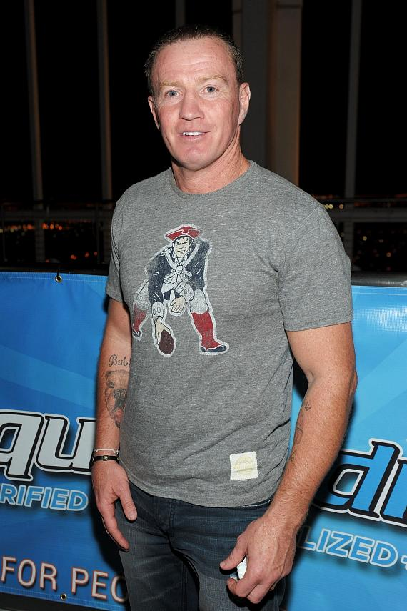 Professional boxer Micky Ward
