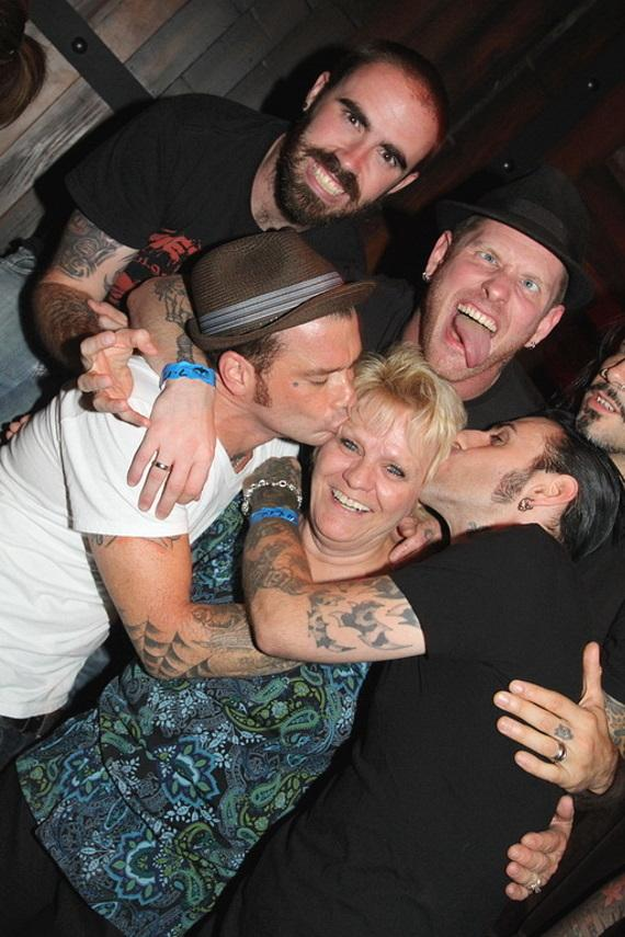 Junk Beer Kidnap Band with Corey Taylor's mom