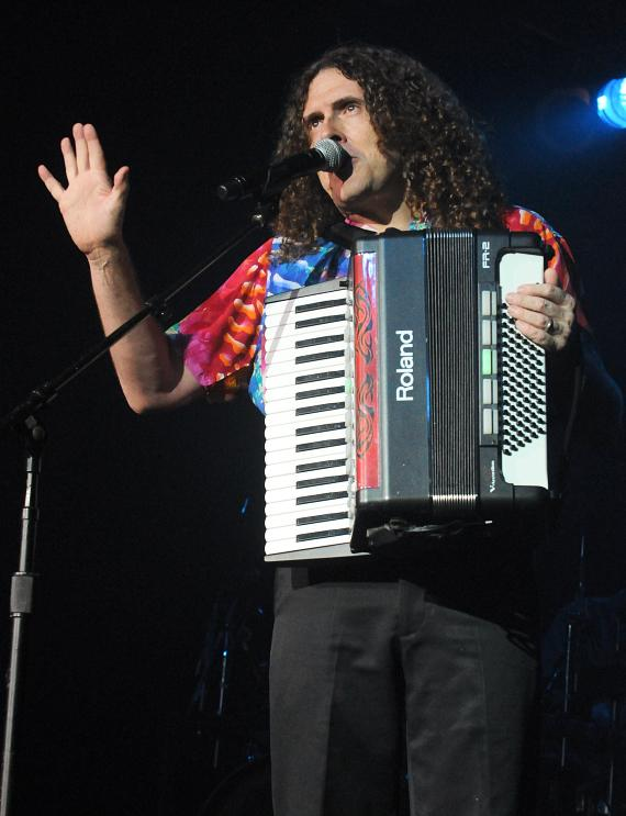 """""""Weird Al"""" Yankovic performs at The Cannery Casino in Las Vegas"""