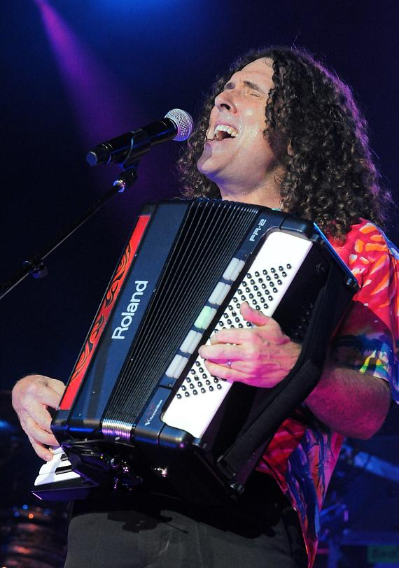 """Weird Al"" Yankovic performs at The Cannery Casino in Las Vegas"