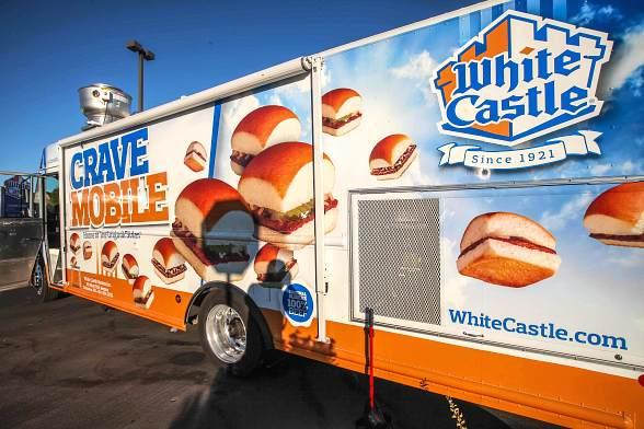 White Castle CraveMobile at Las Vegas Foodie Fest
