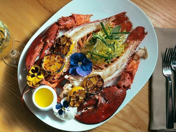Whole Lobster at Bacchanal