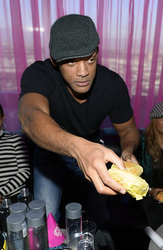 Actor Will Smith attends DJ AcE's birthday celebration Ghostbar Dayclub at the Palms Casino Resort
