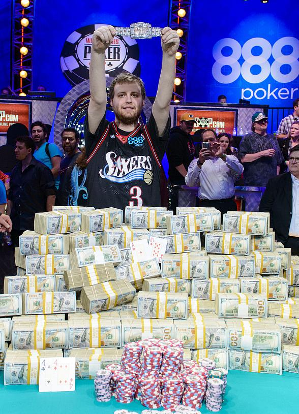 world series of poker main event winner