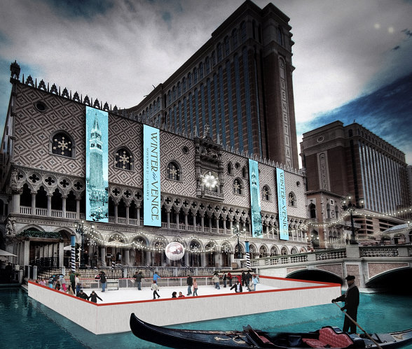 The Venetian and The Palazzo Las Vegas Announce First-Ever Winter in Venice Holiday Celebration