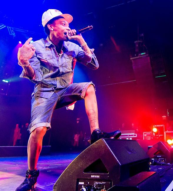 Wiz Khalifa Performs at The Joint at Hard Rock Hotel & Casino