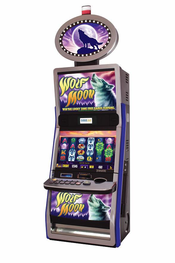 Aristocrat's New Video Slot Game: Wolf Moon