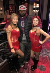 The Legendary Ghostface Killah from Wu-Tang Clan at the D Casino Hotel