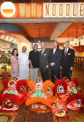 WuHu Noodle Grand Opening Parade and Ribbon Cutting at Silverton Casino Hotel in Las Vegas
