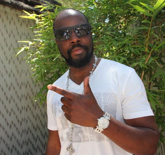 Wyclef Jean at Rehab
