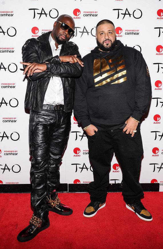 Wyclef Jean and DJ Khaled perform at TAO Nightclub for Worship Thursdays