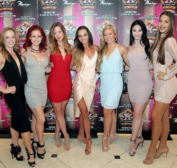 Cast of X Country at Flamingo Las Vegas