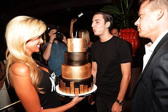 DJ Alesso celebrates his 21st birthday at XS nightclub in Las Vegas