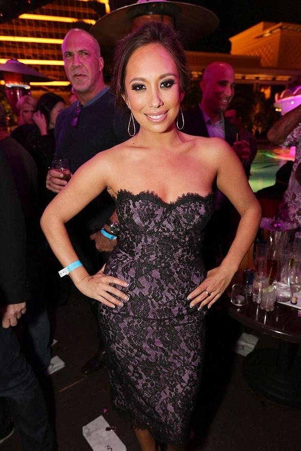 Cheryl Burke Parties at XS Nightclub After Miss America Pageant