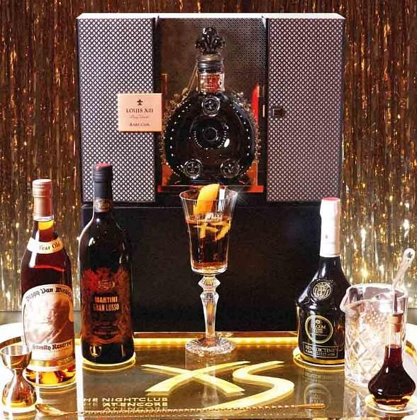 XS Unveils $5,000 Specialty Cocktail in Honor of Five Year Anniversary