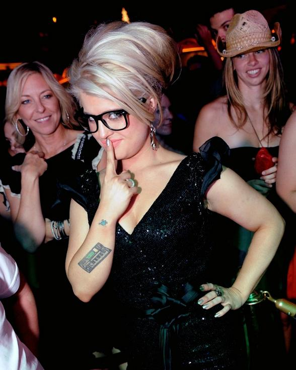 Kelly Osbourne at XS Nightclub