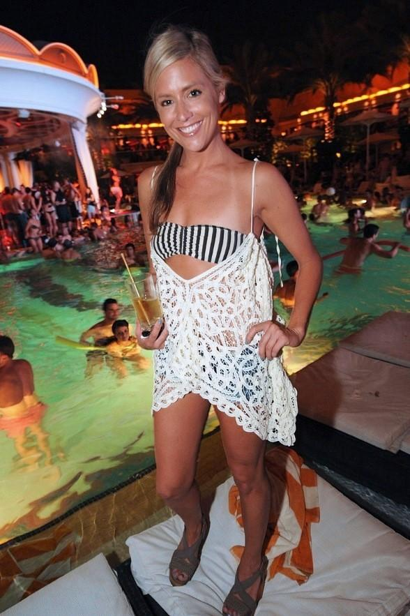 Bachelor Pad Stars, Tito Ortiz and Jenna Jameson at XS Night Swim Party