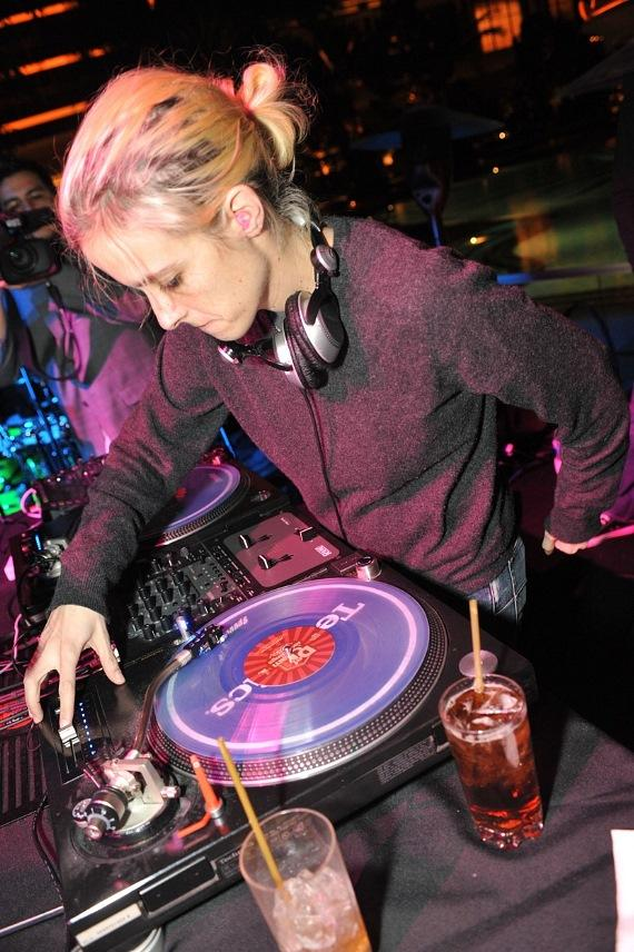Samantha Ronson at XS Nightclub