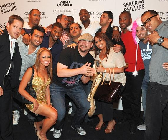 Shaun Phillips and friends at XS
