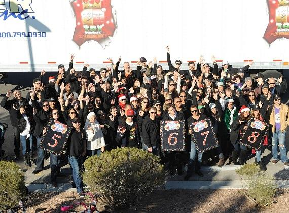 XS and Tryst staff donated more than $171,000 in toys to this year's drive