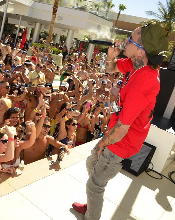 Yelawolf performs at Palms Pool