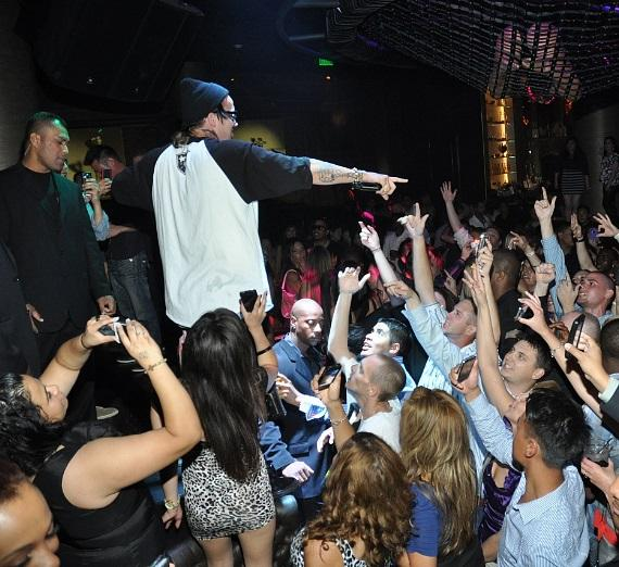 Yelawolf performing at Gallery Nightclub