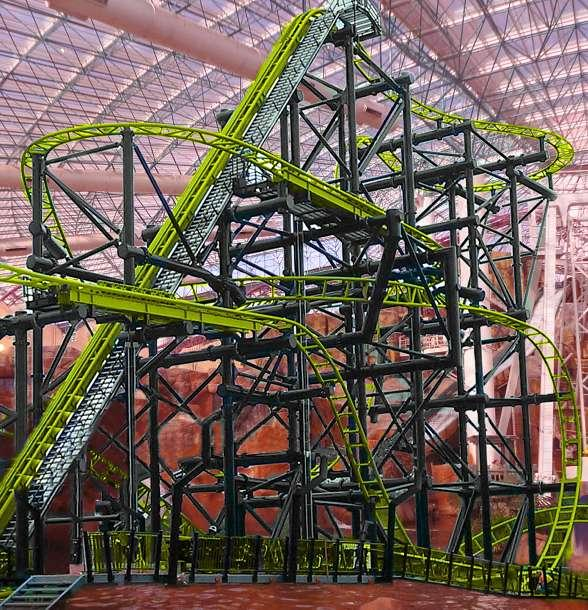 El Loco, The Adventuredome's newest roller coaster (rendering)