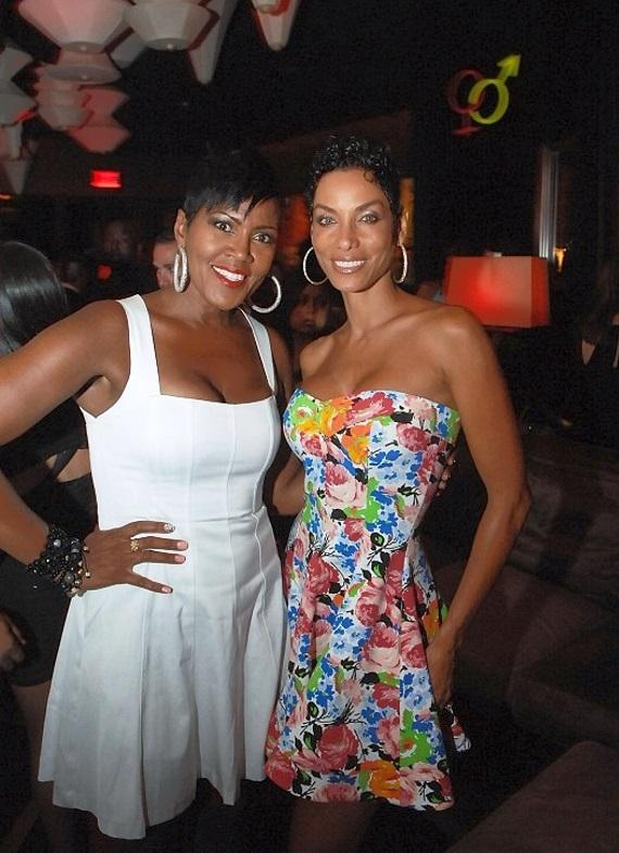 Yolanda Braddy and Nicole Murphy at Blush Boutique Nightclub