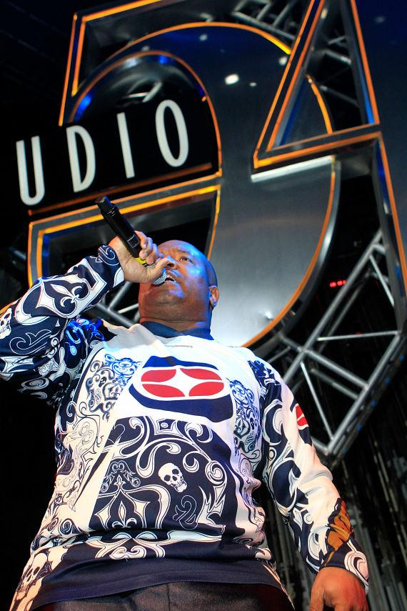 Young MC performing at Studio 54