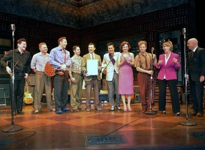 "Clark County Proclaims ""MDQ Vegas Day"" in Honor of Million Dollar Quartet's 2nd Anniversary at Harrah's Las Vegas"