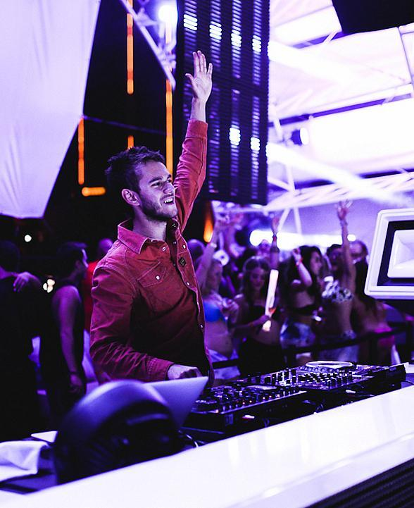 DJ Superstar ZEDD Performs at Daylight Beach Club at Mandalay Bay