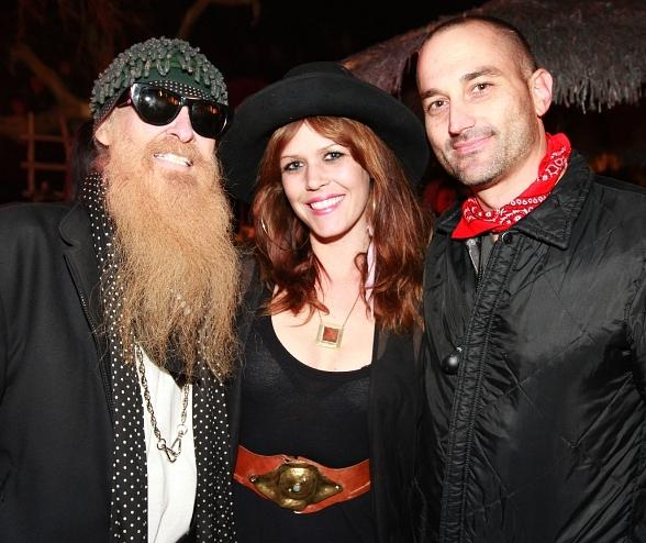 ZZ Top's Billy Gibbon's Visits First Friday and Gypsy Den