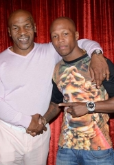"Zab Judah attends ""Mike Tyson Undisputed Truth"" at MGM Grand in Las Vegas"