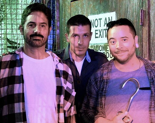 Zach Galligan, Ryan Stock and AmberLynn Walker get First Look at Fright Dome in Las Vegas