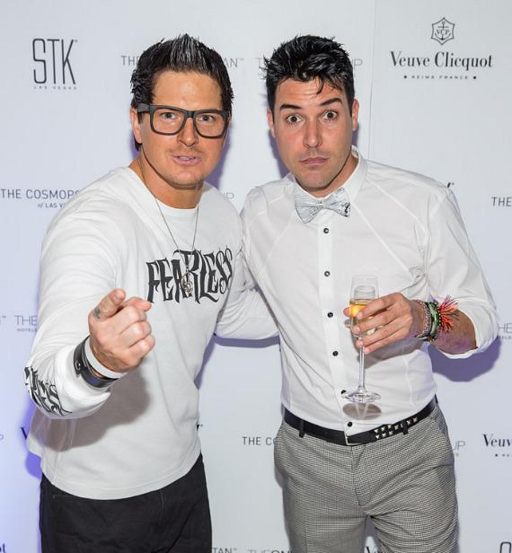 Zak Bagans and Frankie Moreno
