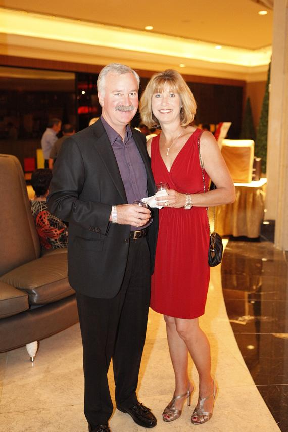 "Guests at ""Vineyards of Style"" at The Palazzo"