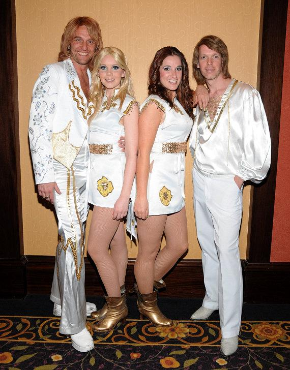 Cast of ABBA The Concert at the Eastside Cannery Casino Hotel